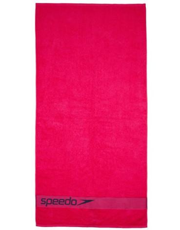 Rosa Speedo handduk med logga