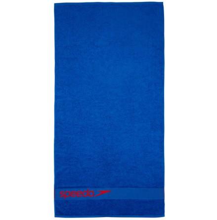 Blå Speedo handduk med logga
