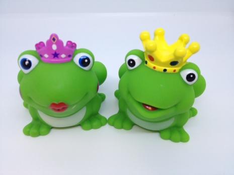 Badlek Grodor. Prins och Prinsessa - flyter