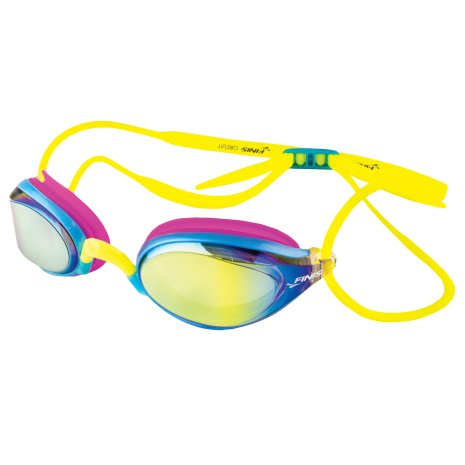 Circuit Goggle gul/rosa
