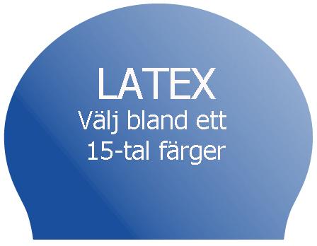 LATEX BADMÖSSA MED TRYCK