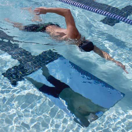 SWIM MIRROR, stor spegel för simträning