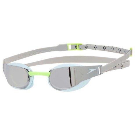 Fastskin Elite Mirror Oxid Grey/Sky/Chrome