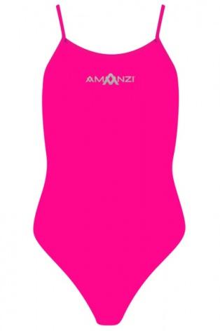 Pixie Tie Back - mörkrosa