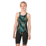 Fastskin Junior LZR - Black/Chrome Blue/Brilliant