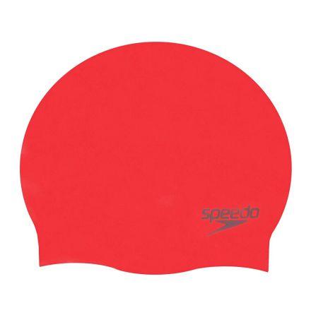 Speedo silikon badmössa Röd