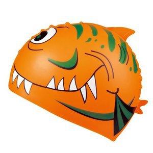 Badmössa barn - orange Haj