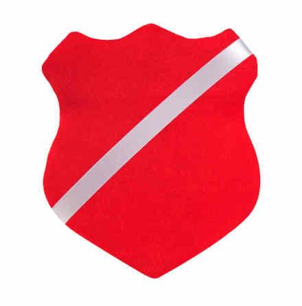 Märkessköld Röd