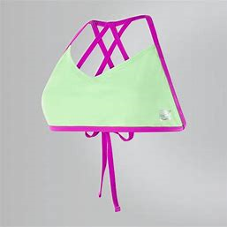 Speedo Bikiniöverdel Neon Freestyler - Bright Zest/Neon Orchid